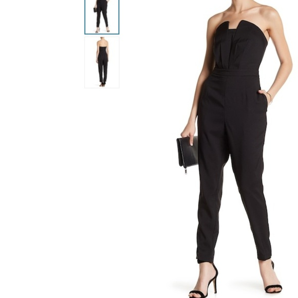702c8485fa5 Adelyn Rae Strapless Jumpsuit